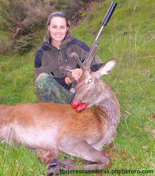 Cazadoras neozelandesas - Mujeres cazadoras de Nueva Zelanda SARAHR1_zpslmlzqeqr