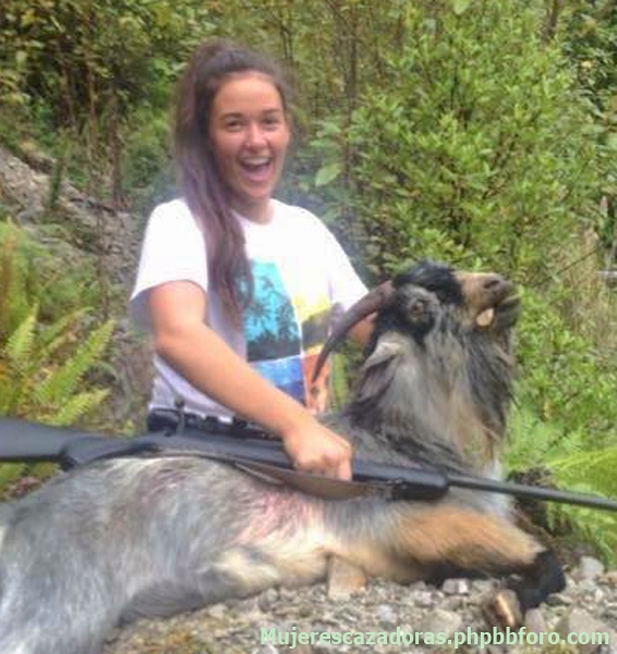 Cazadoras neozelandesas - Mujeres cazadoras de Nueva Zelanda TORIOCL_zpsrnyjlfcx