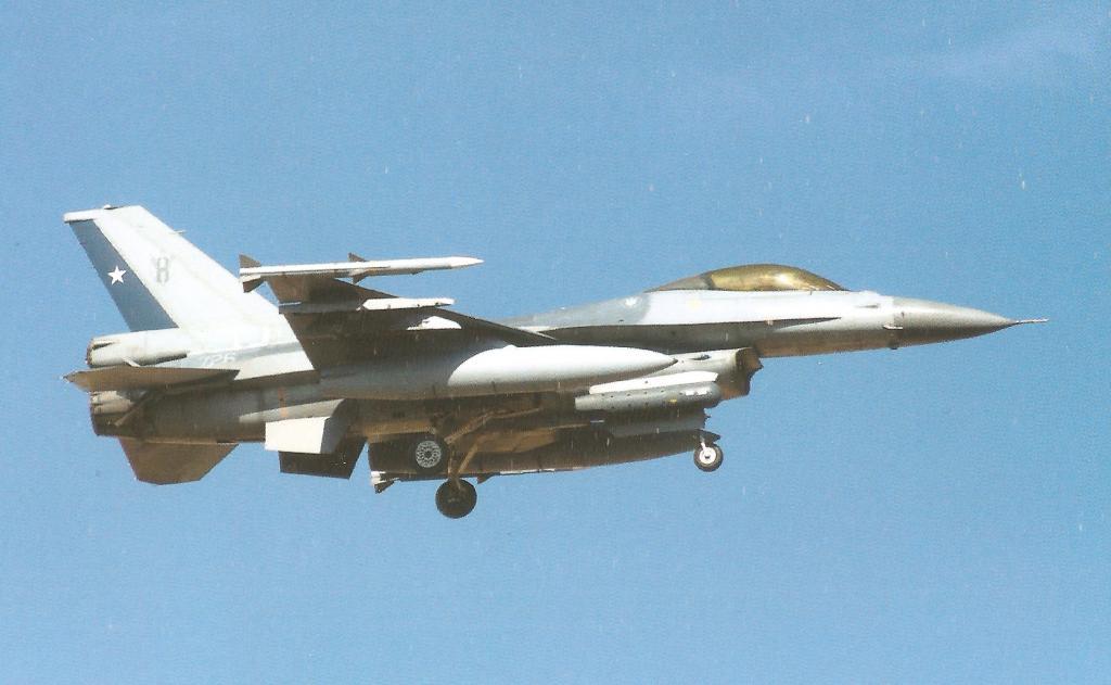 sustitucion del iai kfir de la fuerza armada de colombia  F16MLUcaf