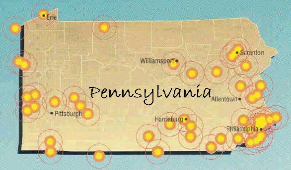 State of Pennsylvania Pennsylvania