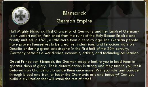 Civilisation V LP, maybe - Page 2 Bismarckinformation
