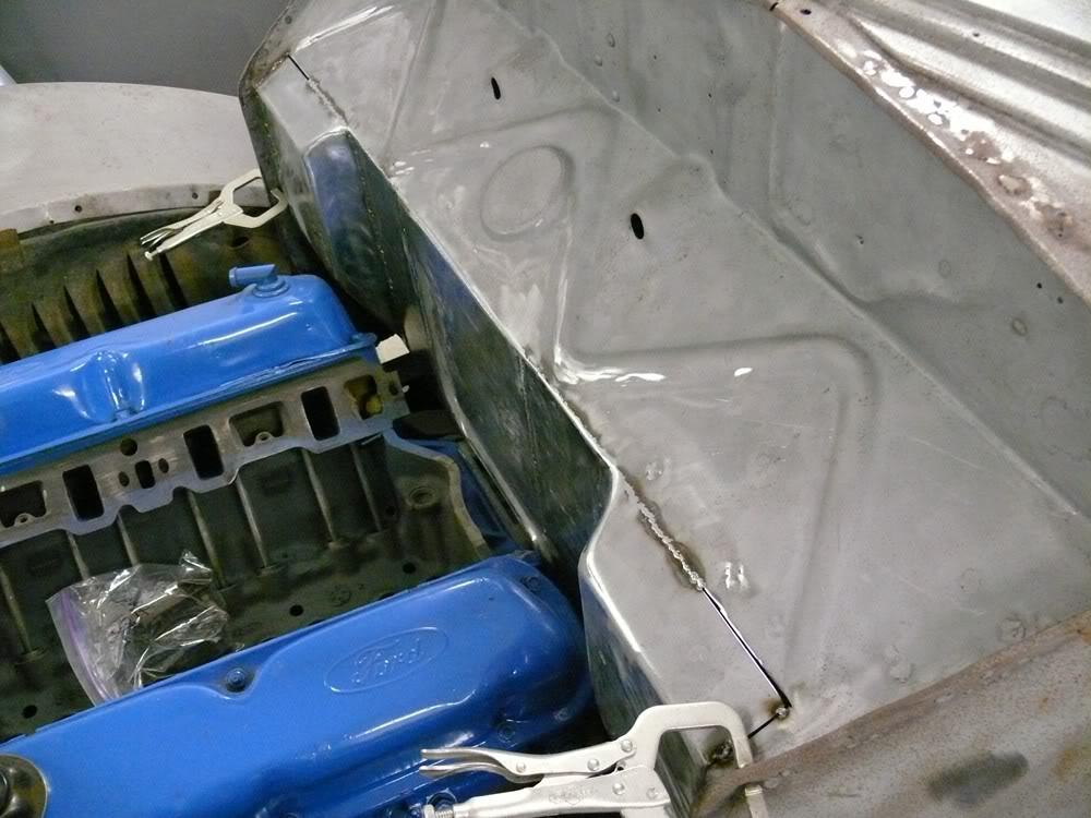 1937 ford coupe Firewallsplit