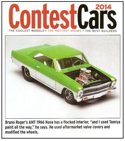 Scale auto contest 2014 ContestCars2014Nova1966