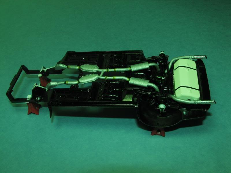 Mustang Saleen Décapotable 1998 MontageChassisReacuteservoiretExhaustEssence