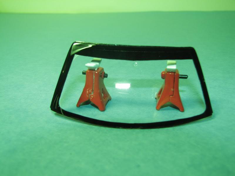 Mustang Saleen Décapotable 1998 MontagePareBriseAvant