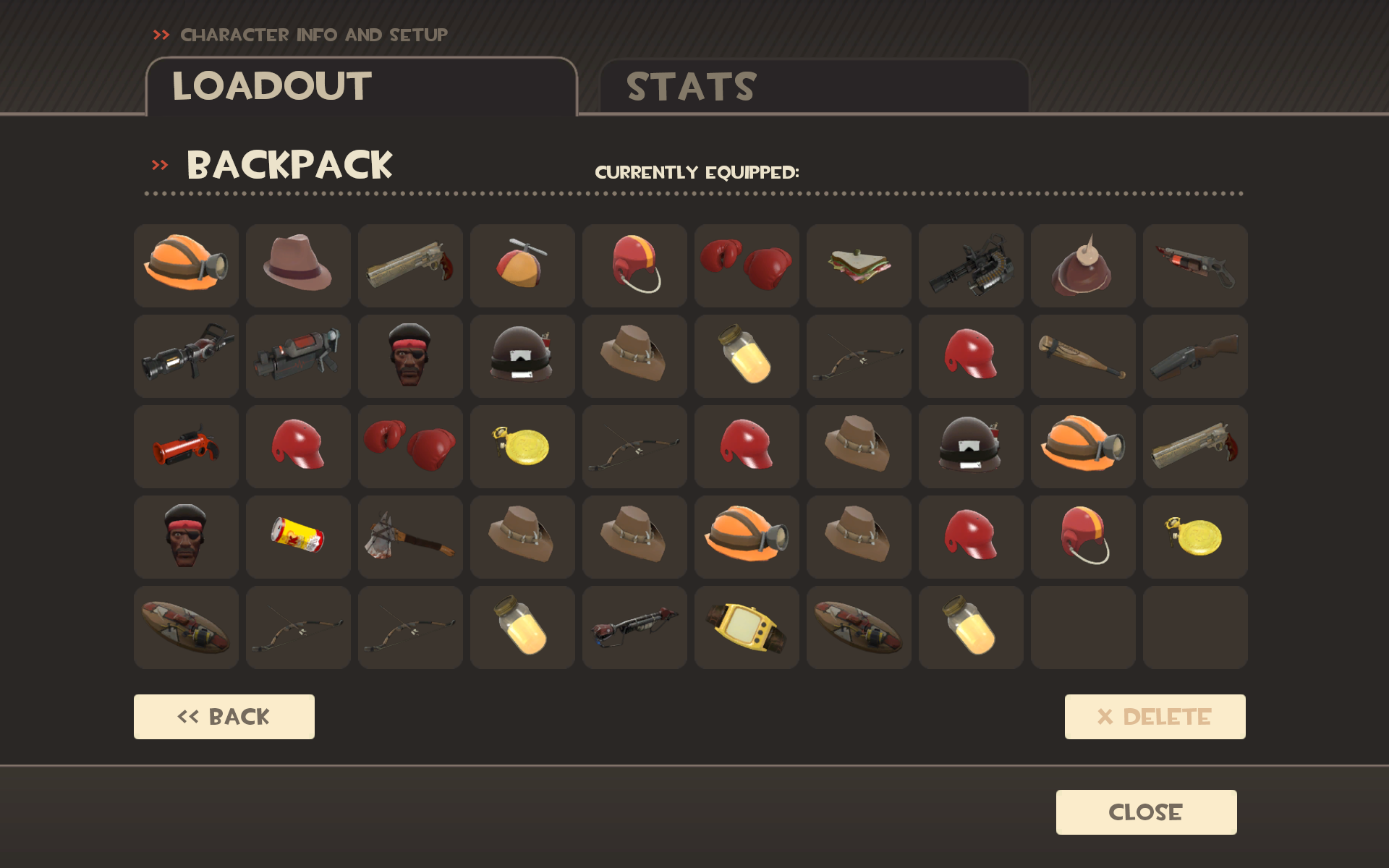 Post your inventory. Wellthen