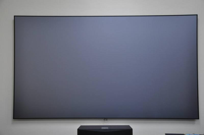 "Screen Innovations - Black Diamond Zero Edge Screen 100"" (New Pricing). Screeninnovationgrey"