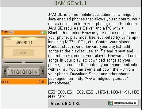 Nokia N Series Applications 2 JAMSEplayer