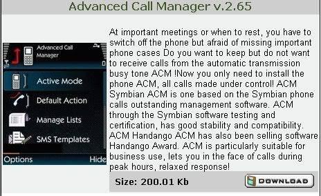 Nokia N Series Applications 3 Advancedcallmanager