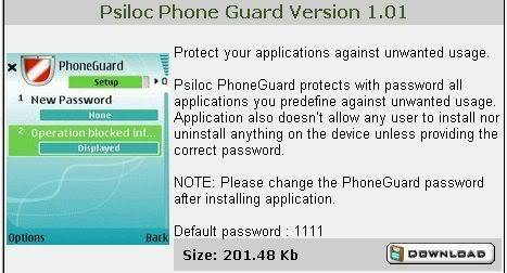 Nokia N Series Applications 2 Phoneguard