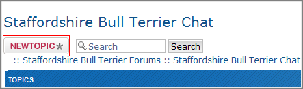How do I post a topic in a forum? Topic