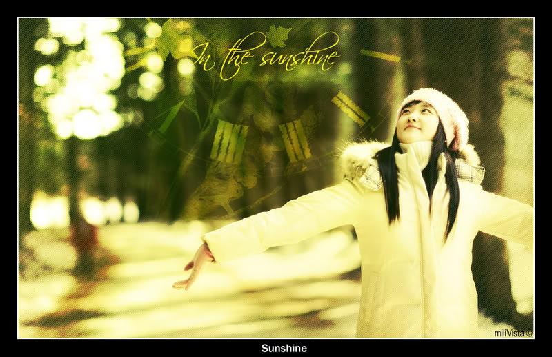 yêu nắng................. Sunshine