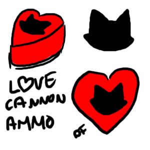One Bad Kitty LoveCannonAmmo