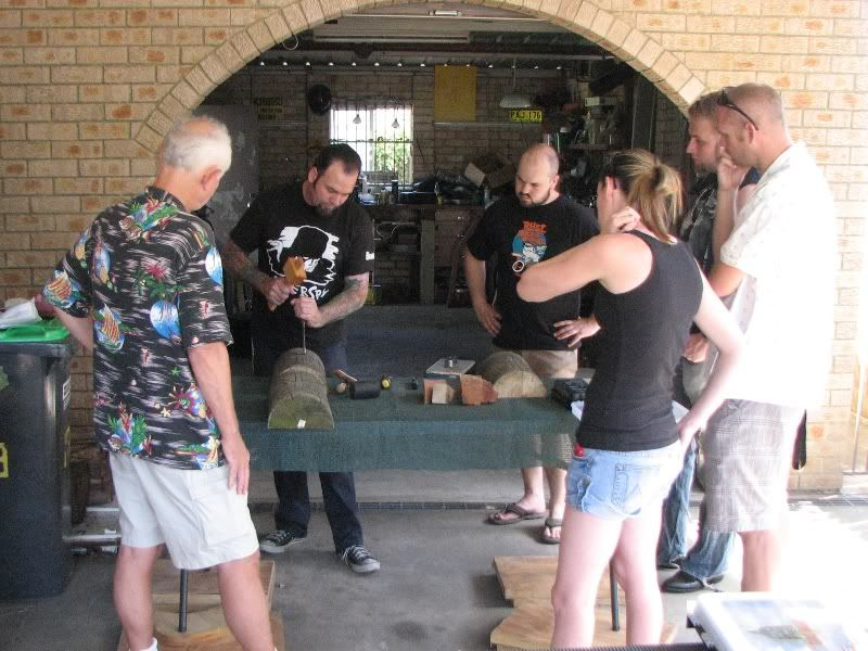 "Sydney ""Tiki Beat"" carving workshop (lottsa pics) TikiBeat007"