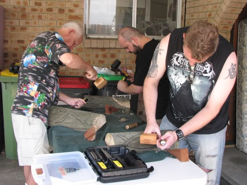 "Sydney ""Tiki Beat"" carving workshop (lottsa pics) TikiBeat017"