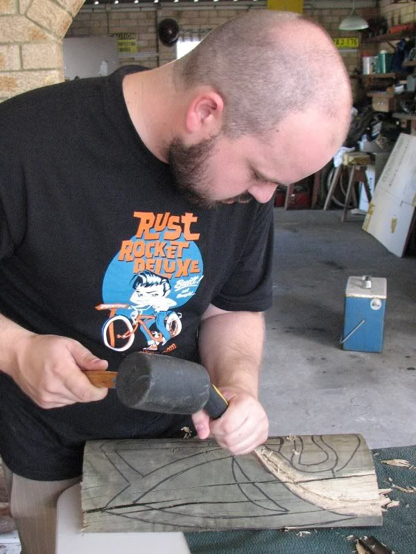 "Sydney ""Tiki Beat"" carving workshop (lottsa pics) TikiBeat033"