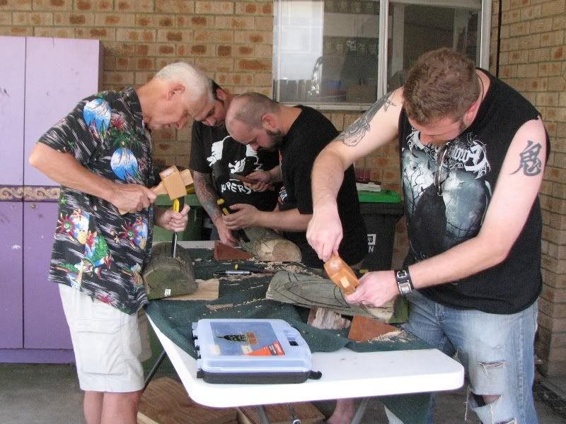"Sydney ""Tiki Beat"" carving workshop (lottsa pics) TikiBeat044"