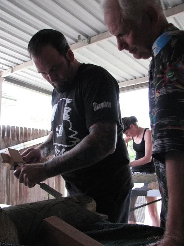 "Sydney ""Tiki Beat"" carving workshop (lottsa pics) TikiBeat071"