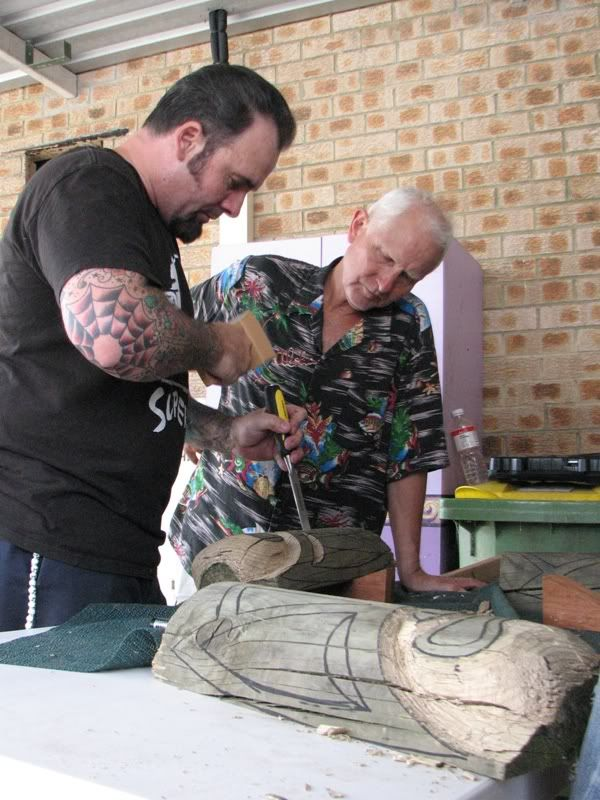 "Sydney ""Tiki Beat"" carving workshop (lottsa pics) TikiBeat080"