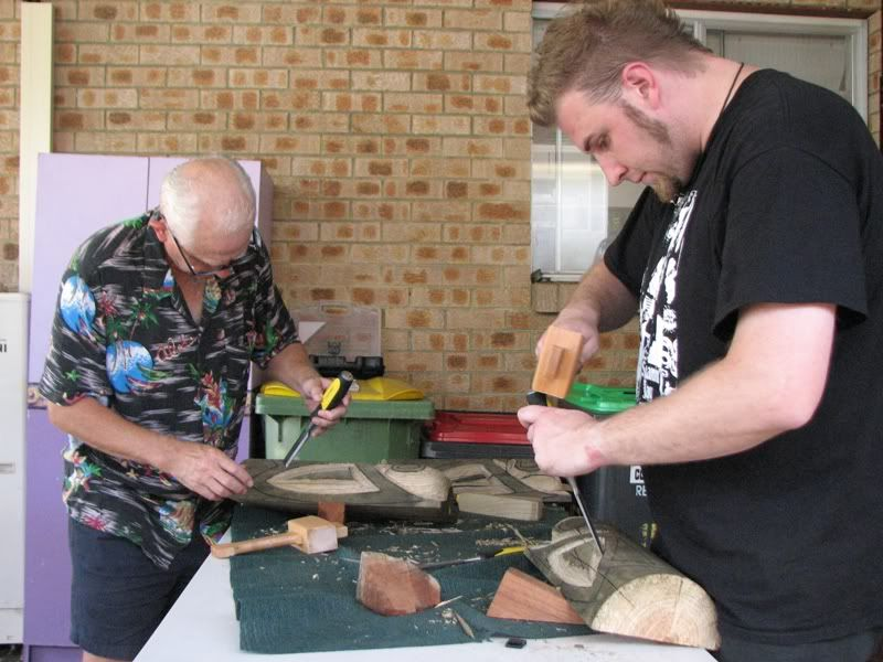 "Sydney ""Tiki Beat"" carving workshop (lottsa pics) TikiBeat083"
