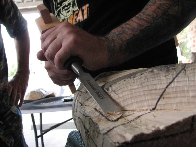 "Sydney ""Tiki Beat"" carving workshop (lottsa pics) TikiBeat093"