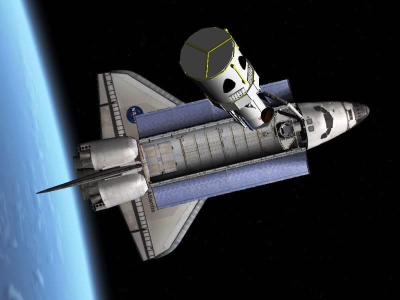 Orbiter Space Flight Simulator Atlantis_hst