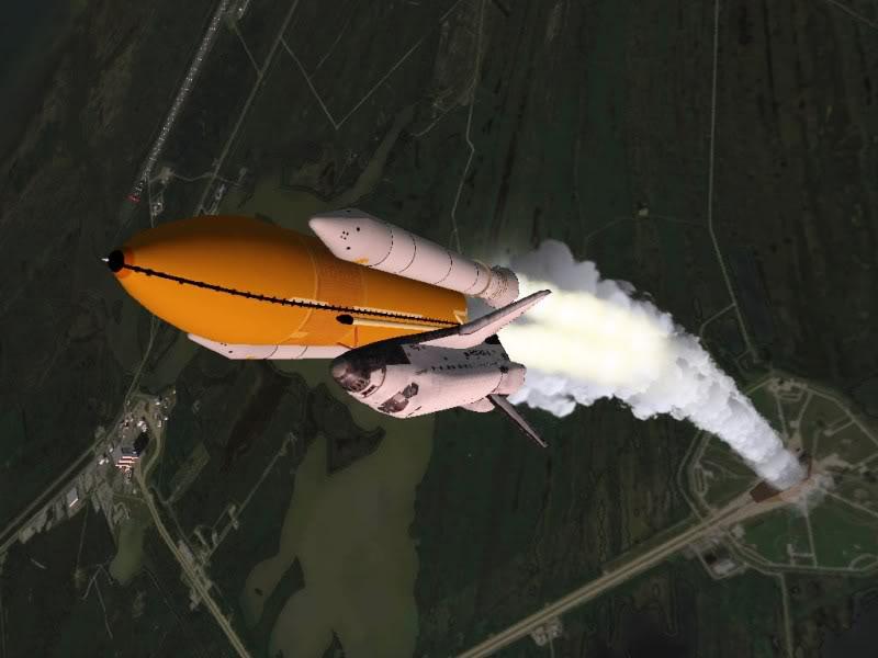 Orbiter Space Flight Simulator Atlantis_launch