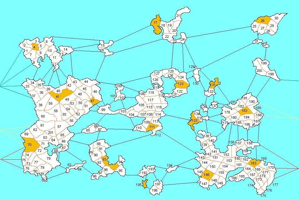 Planisferio Mundial * Datos p/Todos * Husos Horarios * División Geográfica * Reg. Maravillas * Conexiones Fluviales SimilmapaMaravillasyataquesfluvialesconnumeros-1