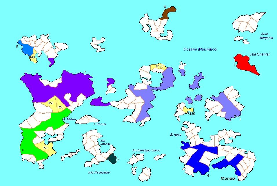 Planisferio Mundial * Datos p/Todos * Husos Horarios * División Geográfica * Reg. Maravillas * Conexiones Fluviales SimilmapaPoliticosindivisiones-29