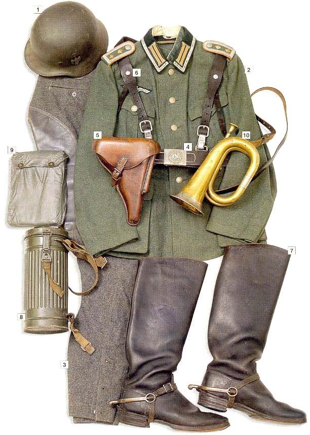 Los uniformes de la Segunda Guerra Mundial GermancavalrysergeantmajorOberwachtmeister1939-40