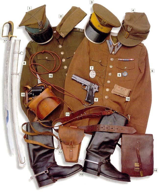 Los uniformes de la Segunda Guerra Mundial Polishcavalryofficer1939