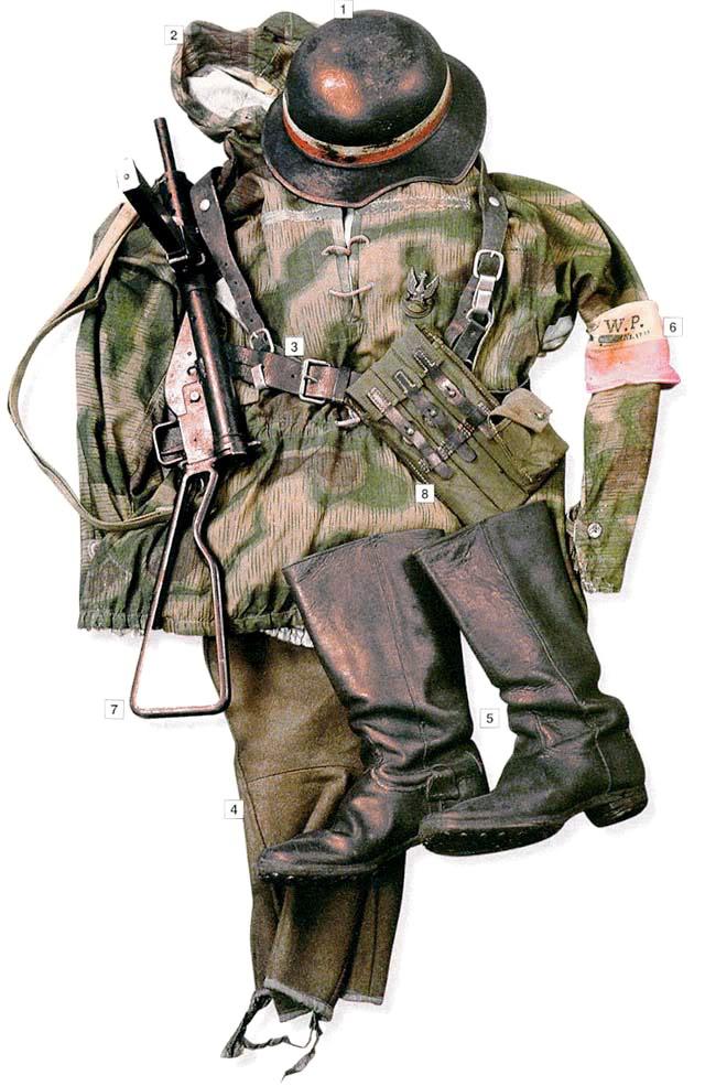 Los uniformes de la Segunda Guerra Mundial SoldieroftheWarsawUprising1944