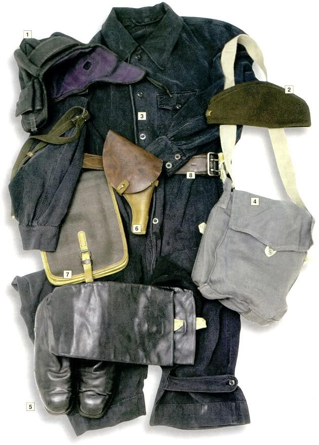 Los uniformes de la Segunda Guerra Mundial Soviettankcommander1939