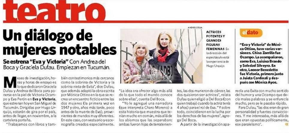 Eva y Victoria en Tucumán  - Página 3 2011_Clarin_