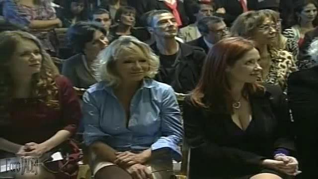 Andrea en la inauguracion del Salon de pintores y pinturas arg. del bicentenario (08/04/11)) 2C0519C9_0-07-19803