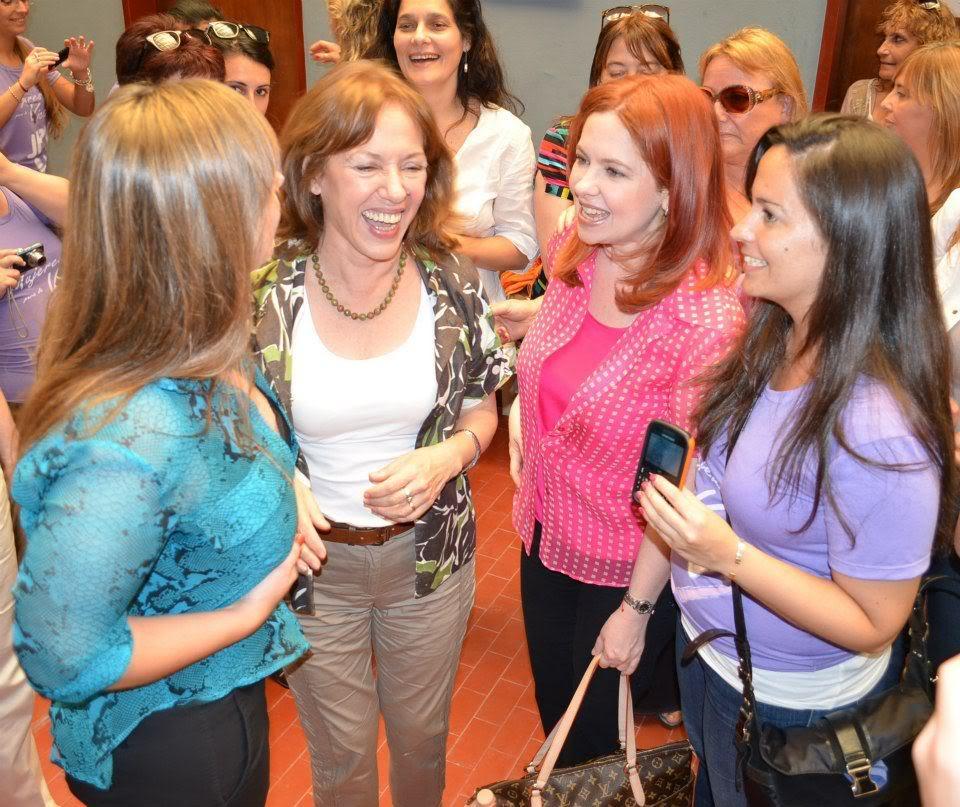"""[24/11/2012] Andrea en Santa Fe """"Mil mujeres contra la violencia de género"""" Andrea_Santa_Fe_0012"""