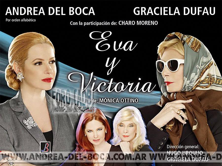 Afiche exclusivo de Eva y Victoria Evavictoria1