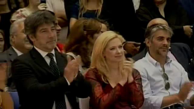 [06/12/2011] Andrea en el acto de Cristina en el Museo del Bicentenario PDVD_049