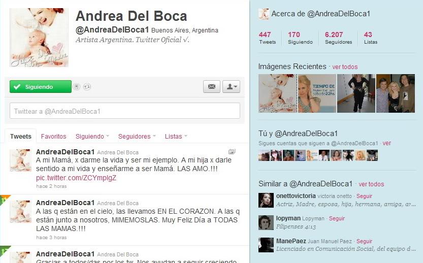 Андреа в твиттере Avatar