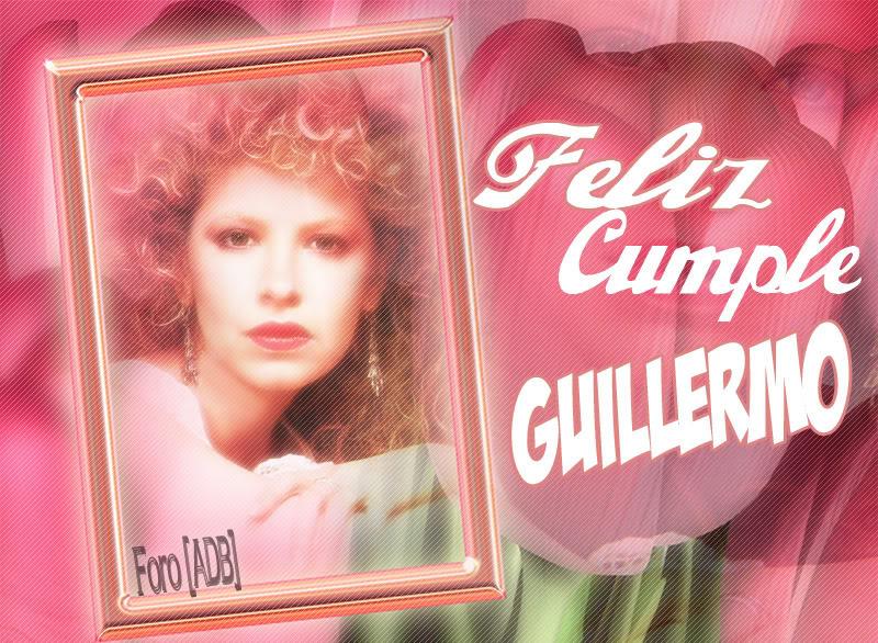Feliz cumpleaños Guillermo!!!! Cumpleguille