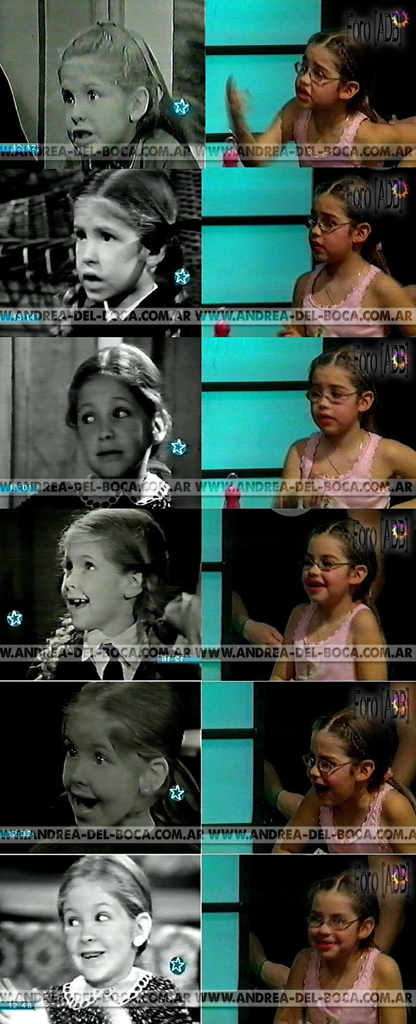 Andrea Del Boca y su hija...igualitas Generaciones01