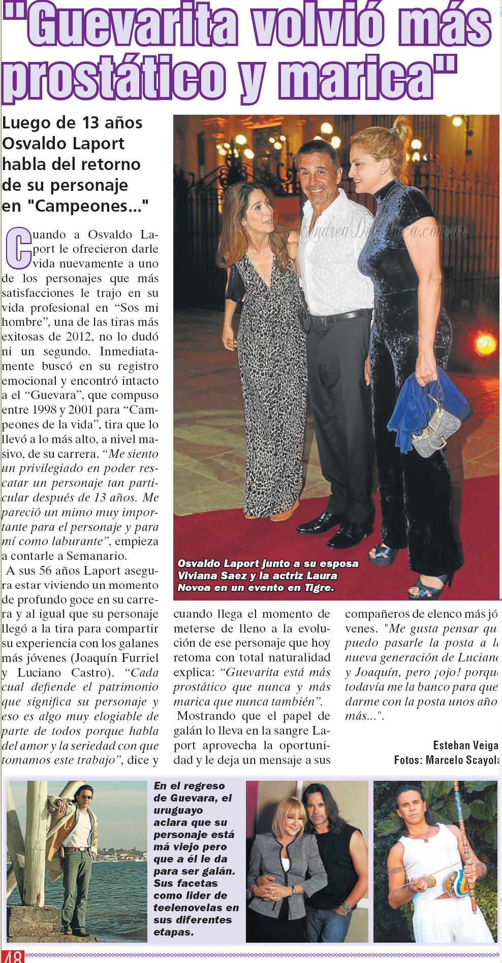 Освальдо Лапорт / Osvaldo Laport - Página 10 Osvaldo_semanario2012-1