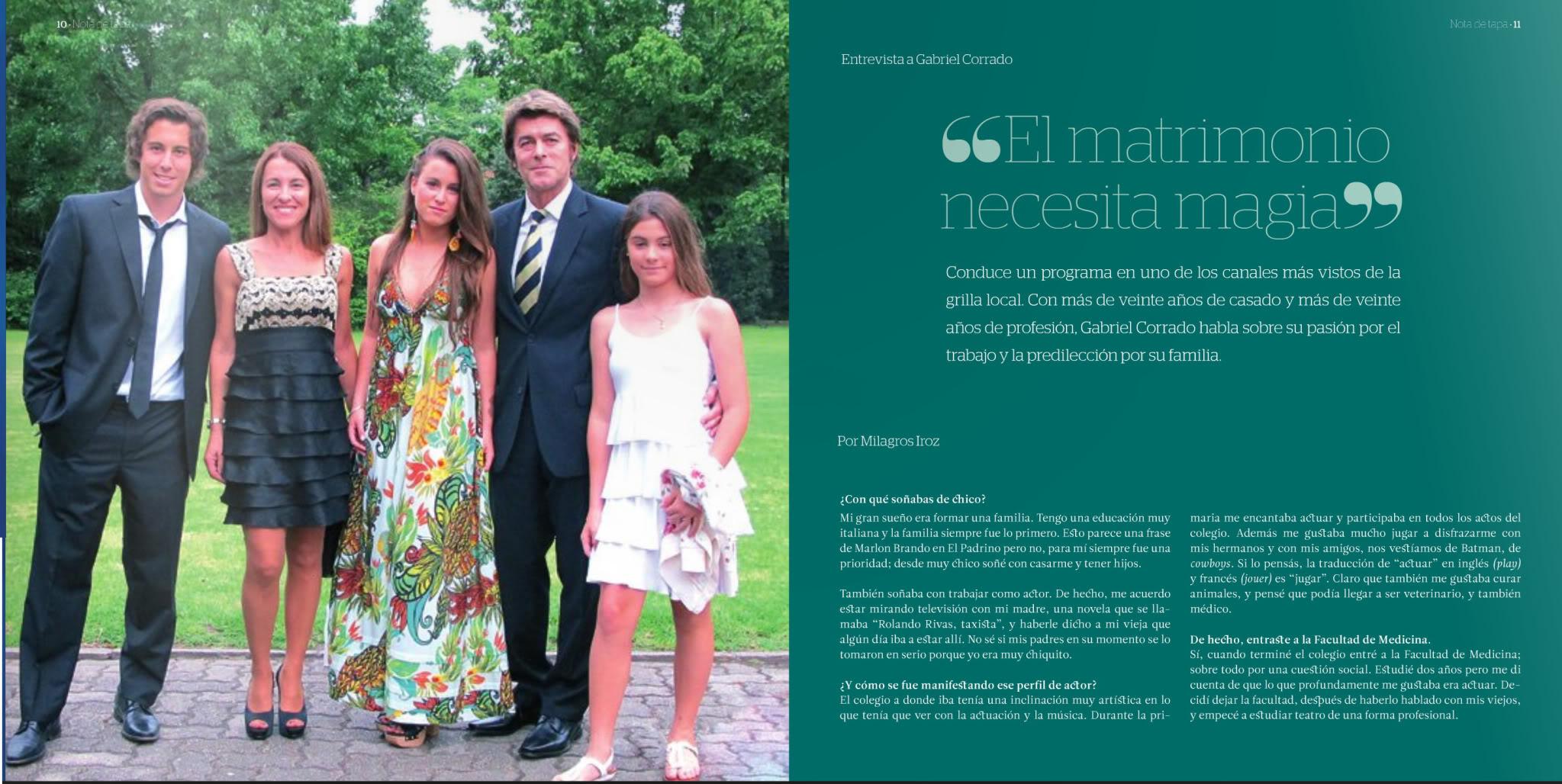 Габриэль Коррадо / Gabriel Corrado - Página 13 Familia_hoy002