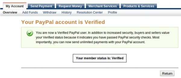 """Biểu tượng """"Hạn Mức Gửi Và Rút"""" trong PayPal có làm bạn lo lắng? Paypal_verified-600x260"""