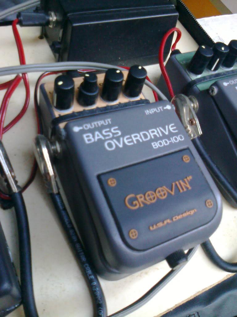 Groovin Bass Overdrive BOD100 - R$ 90,00 Foto0151