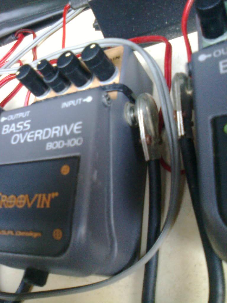 Groovin Bass Overdrive BOD100 - R$ 90,00 Foto0152