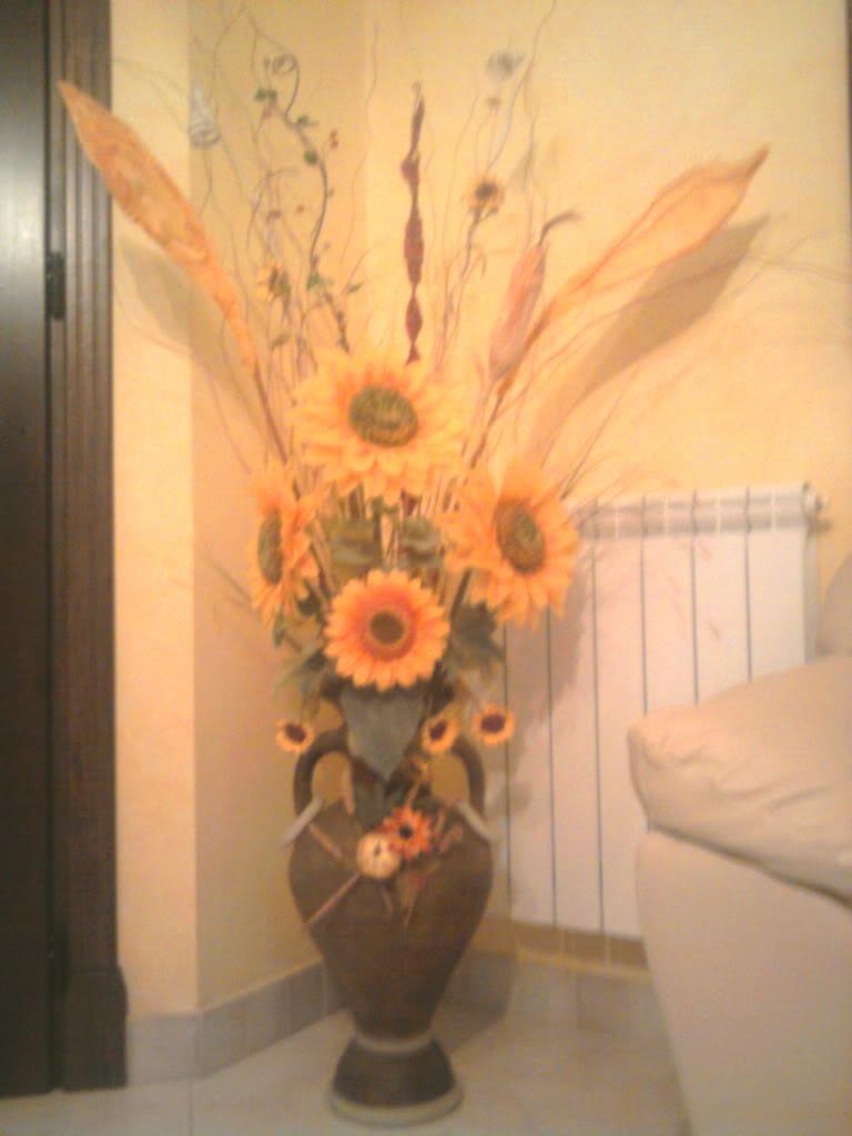 giara con girasoli Giaragirasoli