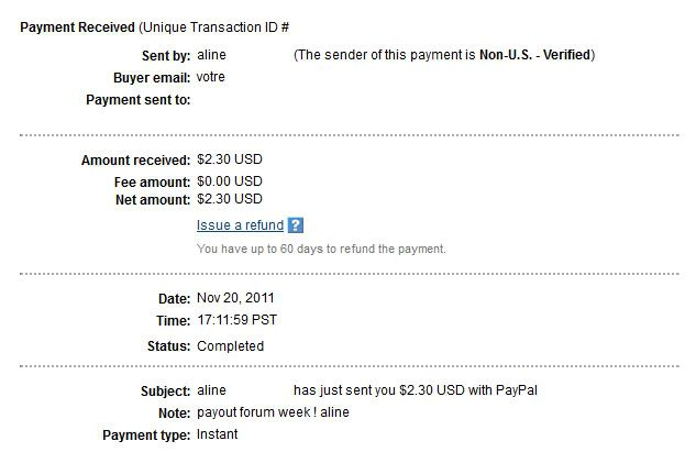 My 16th payment Alineproof016
