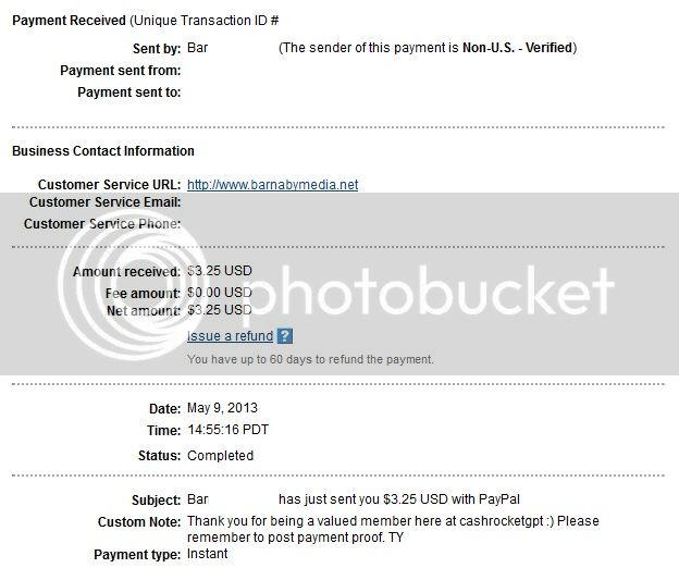 My 2nd payment CashRocketGPTproof002_zpsa8ac5304