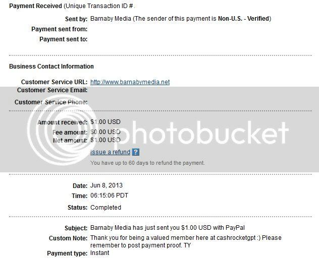 My 6th payment CashRocketGPTproof006_zps481410ab